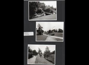 C3271/ 3 x Foto Hamburg Billstedt Schlemerbach ca.1965 12,5 x 9 cm