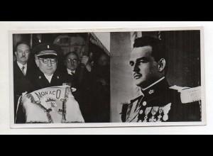 C3843/ Prinz Rainier von Monaco Foto 1949 Überreichung der Schlüssel