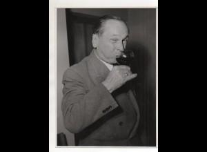 C3838/ Ludwig Manfred Lommel deutscher Humorist Foto ca.1950