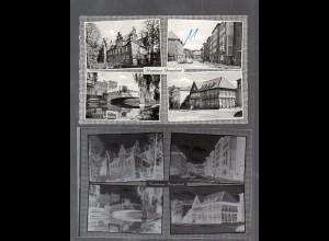 Y14873/ Hamburg Bergedorf AK + Negativ ca.1955
