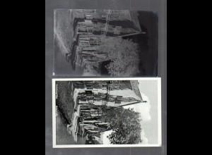 Y14848/ Lauenburg Grünstraße AK + Negativ ca.1940