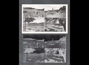 Y14847/ Lauenburg Hohnstorf AK + Negativ ca.1940