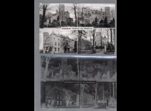 Y14935/ Gehschule Wentorf AK + Negativ ca.1955