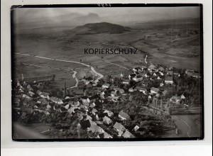 ZZ-0002/ Bohlingen bei Singen Foto Luftbild 1940 18 x 13 cm