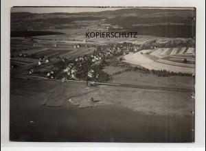 ZZ-0001/ Markelfingen Radolfzell Foto Luftbild 1934 18 x 13 cm