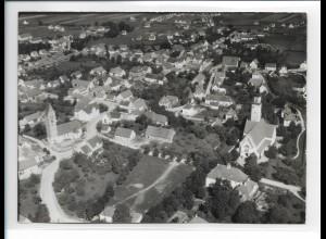 ZZ-0132/ Vöhringen seltenes Foto Luftbild 1936 18 x 13 cm