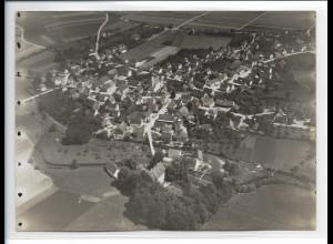 ZZ-0135/ Dellmensingen seltenes Foto Luftbild ca. 1938 18 x 13 cm