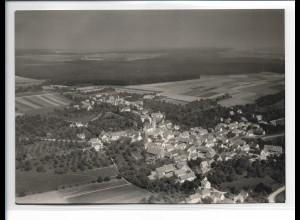 ZZ-5489/ Ringingen seltenes Foto Luftbild 18 x 13 cm