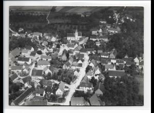 ZZ-0137/ Ringingen b. Erbach seltenes Foto Luftbild 1937 18 x 13 cm