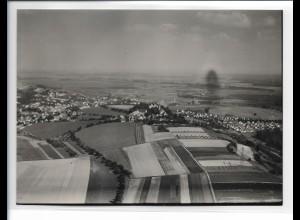 ZZ-5490/ Erbach seltenes Foto Luftbild 18 x 13 cm