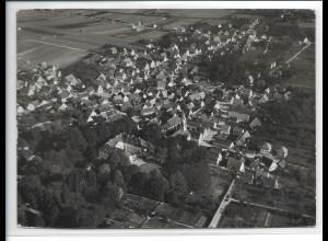 ZZ-5274/ Niederstotzingen Foto seltenes Luftbild 18 x 13 cm ca.1938