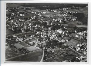 ZZ-0299/ Eibach b. Nürnberg seltenes Foto Luftbild 1939 18 x 13 cm