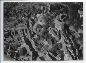 ZZ-0300/ Nürnberg seltenes Foto Luftbild 1939 18 x 13 cm
