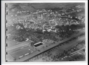 ZZ-0305/ Tauberbischofsheim seltenes Foto Luftbild ca.1938 18 x 13 cm
