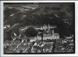 ZZ-0306/ Mergentheim seltenes Foto Luftbild ca.1938 18 x 13 cm