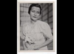 C3327/ Schauspielerin Karin Hardt Ross Bild 18 x 13 cm ca.1935