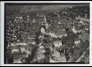 ZZ-5491/ Bad Mergentheim seltenes Foto Luftbild 18 x 13 cm