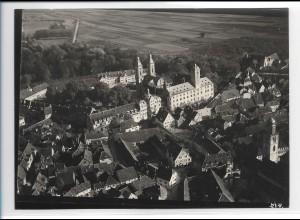 ZZ-5493/ Bad Mergentheim seltenes Foto Luftbild 18 x 13 cm