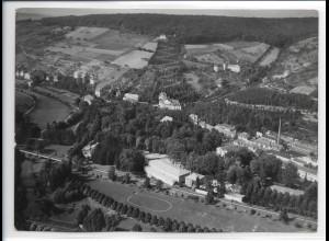 ZZ-0309/ Mergentheim seltenes Foto Luftbild ca.1938 18 x 13 cm
