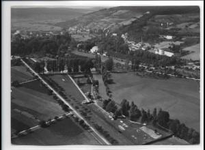 ZZ-0310/ Mergentheim seltenes Foto Luftbild ca.1938 18 x 13 cm