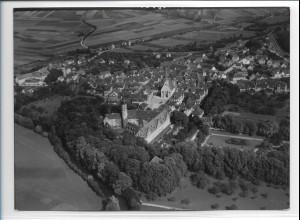 ZZ-0311/ Weikersheim seltenes Foto Luftbild 1937 18 x 13 cm