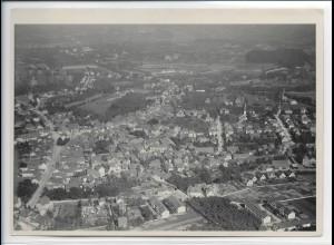 ZZ-0323/ Achern seltenes Foto Luftbild ca. 1936 18 x 13 cm