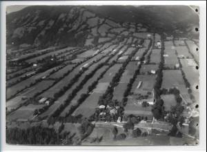 ZZ-0190/ Kellern bei Arzberg seltenes Foto Luftbild 1939 18 x 13 cm