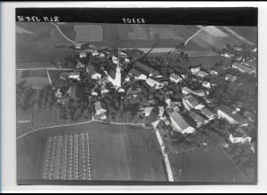 ZZ-0193/ Giesstädt seltenes Foto Luftbild 1938 18 x 13 cm