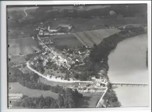 ZZ-0194/ Gars Kloster am Inn seltenes Foto Luftbild 1938 18 x 13 cm