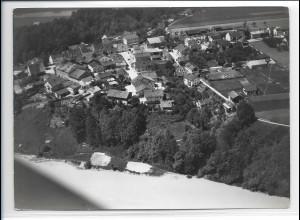 ZZ-0197/ Gars am Inn seltenes Foto Luftbild 1938 18 x 13 cm
