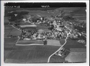 ZZ-0198/ Haag seltenes Foto Luftbild 1938 18 x 13 cm