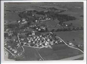 ZZ-0201/ Wasserburg am Inn seltenes Foto Luftbild 1938 18 x 13 cm