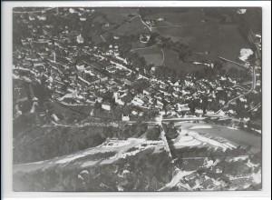 ZZ-0203/ Bad Reichenhall seltenes Foto Luftbild 1938 18 x 13 cm