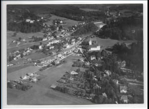 ZZ-0208/ Marquartstein seltenes Foto Luftbild 1938 18 x 13 cm