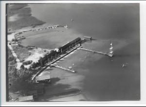 ZZ-0217/ Stock bei Prien seltenes Foto Luftbild 1938 18 x 13 cm