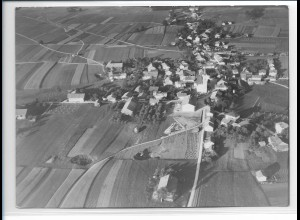 ZZ-0219/ Halfing seltenes Foto Luftbild 1938 18 x 13 cm