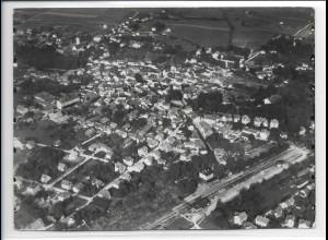 ZZ-0272/ Bad Aibling seltenes Foto Luftbild 1937 18 x 13 cm
