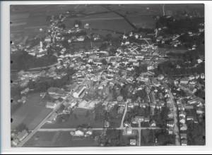 ZZ-0273/ Bad Aibling seltenes Foto Luftbild 1937 18 x 13 cm
