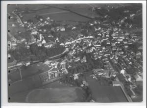 ZZ-0274/ Bad Aibling seltenes Foto Luftbild 1937 18 x 13 cm