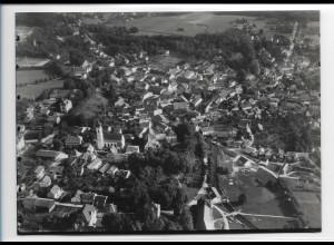 ZZ-0275/ Bad Aibling seltenes Foto Luftbild 1937 18 x 13 cm