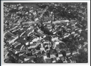 ZZ-0278/ Rosenheim seltenes Foto Luftbild 1937 18 x 13 cm