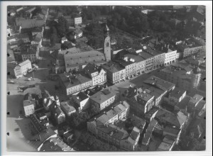 ZZ-0279/ Rosenheim seltenes Foto Luftbild 1937 18 x 13 cm
