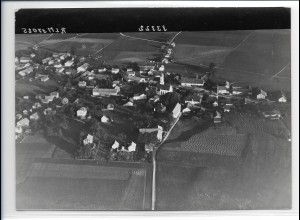ZZ-0242/ Zorneding b. München seltenes Foto Luftbild 1938 18 x 13 cm