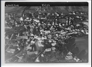 ZZ-0245/ Marktgrafing b. München seltenes Foto Luftbild 1938 18 x 13 cm