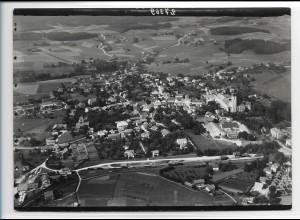 ZZ-0249/ Ebersberg seltenes Foto Luftbild 1938 18 x 13 cm