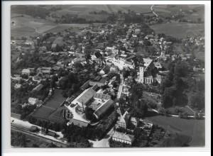 ZZ-0250/ Ebersberg seltenes Foto Luftbild 1938 18 x 13 cm