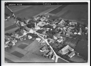 ZZ-0251/ Kirchheim bei München seltenes Foto Luftbild 1938 18 x 13 cm