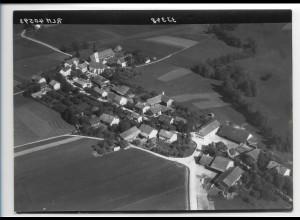 ZZ-0257/ Walpertskirchen seltenes Foto Luftbild 1938 18 x 13 cm