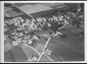 ZZ-0258/ Ober-Nauching seltenes Foto Luftbild 1938 18 x 13 cm