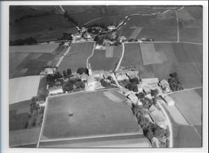 ZZ-0260/ Wörth seltenes Foto Luftbild 1938 18 x 13 cm